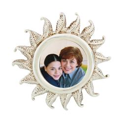 Sun Burst Pendant - Sterling Silver