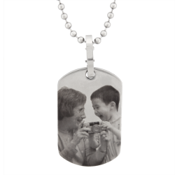Classic Dog Tag - Stainless Steel